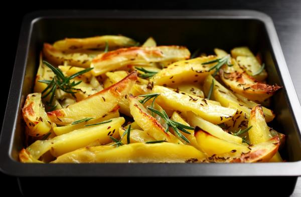 Potatoes with Lemon Juice