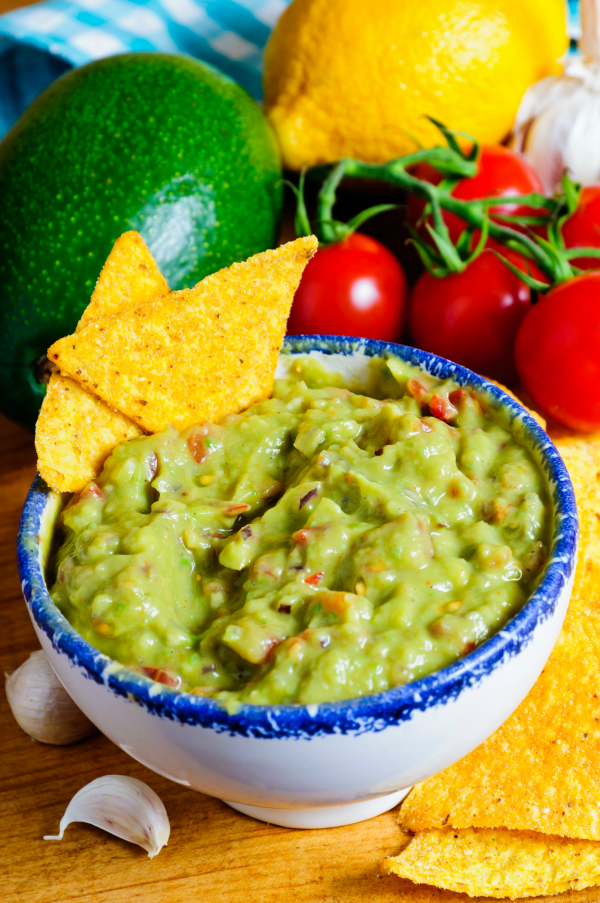 Guacamole a Little on the Lite Side