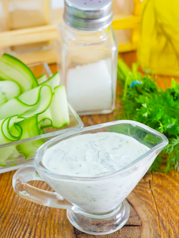 Parsley and Chive Salad Dressing