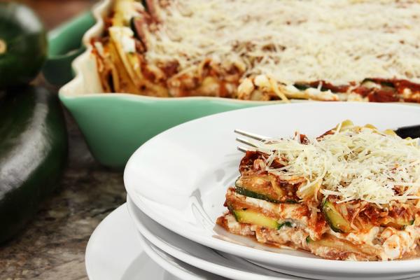 Zucchini Pasta Bake