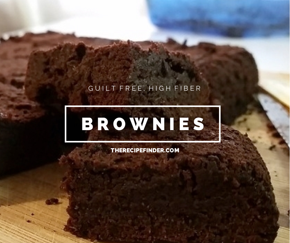 Guilt-Free, High Fiber Brownies