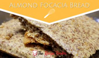 """Almond Focacia """"Bread"""""""