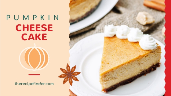 pumpkin cheesecake banner